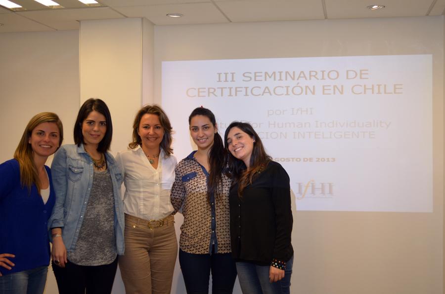 III Seminario de Certificación en Chile por The Institute for Human Individuality en Dieta del Genotipo.