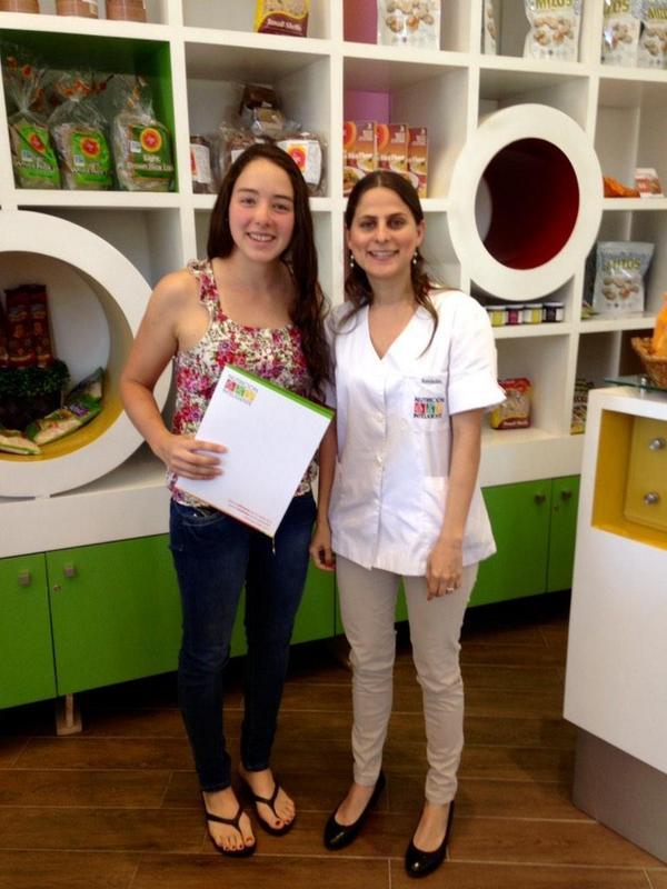 Apoyando a la Triatleta Macarena Salazar con su plan de alimentación